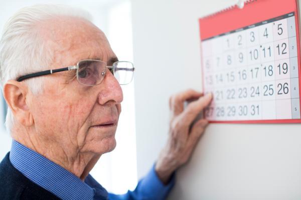 Actividades para personas con Alzheimer - Calendario y orientación espacial y temporal
