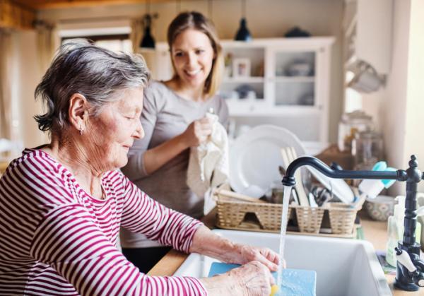 Actividades para personas con Alzheimer - Labores del hogar