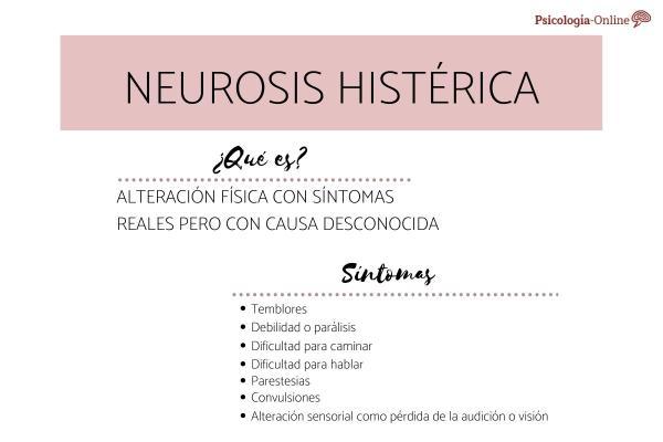 Neurosis histérica: qué es, síntomas, características y tratamiento