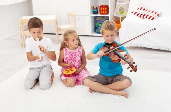 15 ejercicios de relajación para niños - 1. La música como técnica de relajación infantil