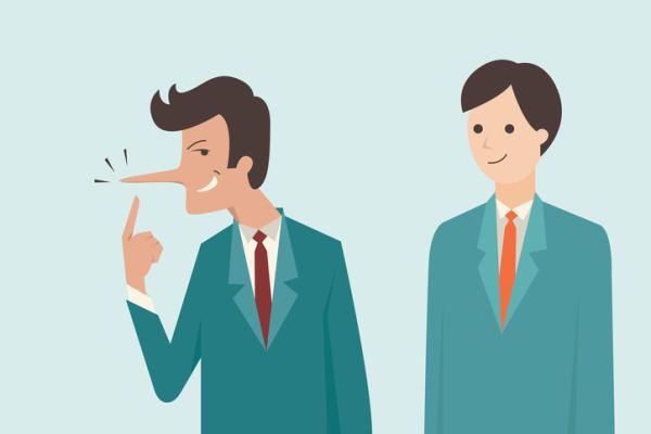 Perfil psicológico de una persona mentirosa - Actitudes de una persona mentirosa