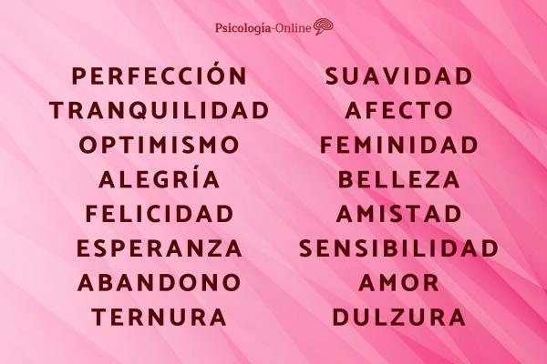 Significado del color rosa en psicología