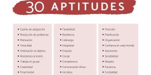 Qué son las aptitudes personales: lista y ejemplos