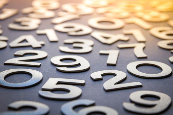 Qué significa soñar con números