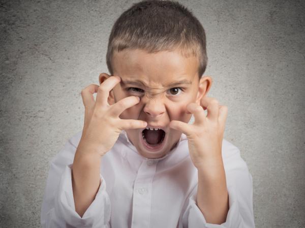 Agresividad en niños de 4 a 5 años - Comportamiento agresivo en niños de primaria