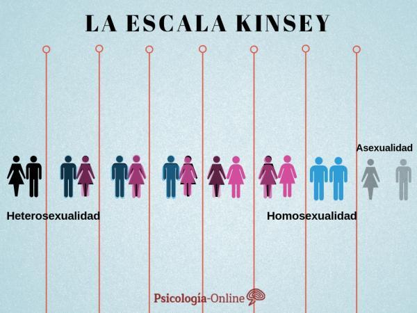 La escala de Kinsey de orientación sexual - Escala de Kinsey