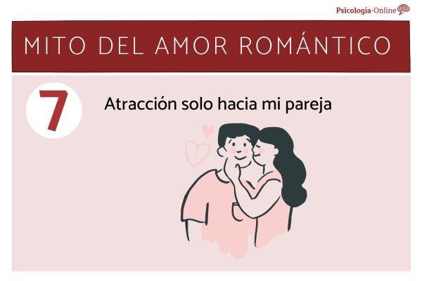 Mitos del amor romántico y la realidad - Atracción solo hacía mi pareja