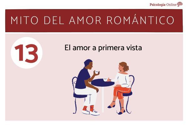 Mitos del amor romántico y la realidad - El amor a primera vista