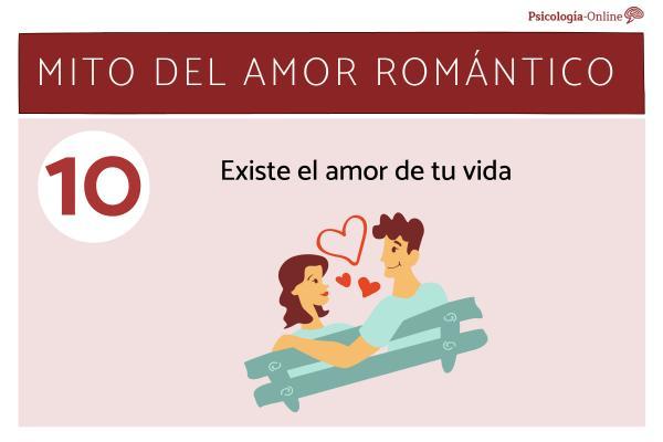 Mitos del amor romántico y la realidad - Existe el amor de tu vida