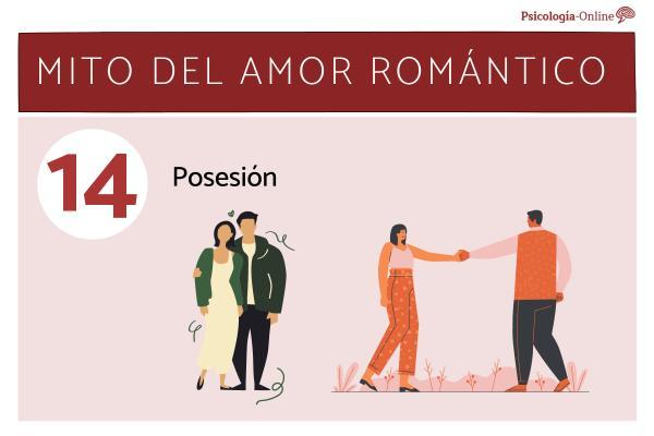 Mitos del amor romántico y la realidad - Posesión