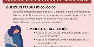 Cómo superar un trauma psicológico