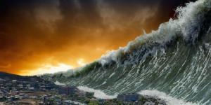 O que significa sonhar com tsunami