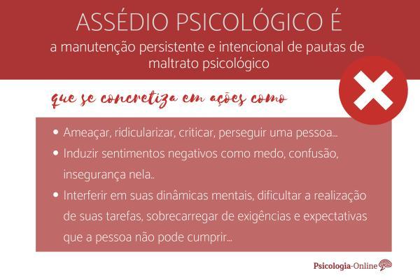 Assédio psicológico: o que é, tipos, causas e consequências