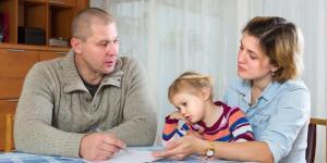 Como superar uma separação com filhos