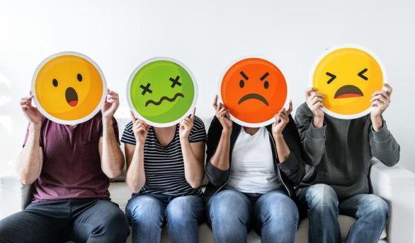 Emoções positivas e negativas: lista
